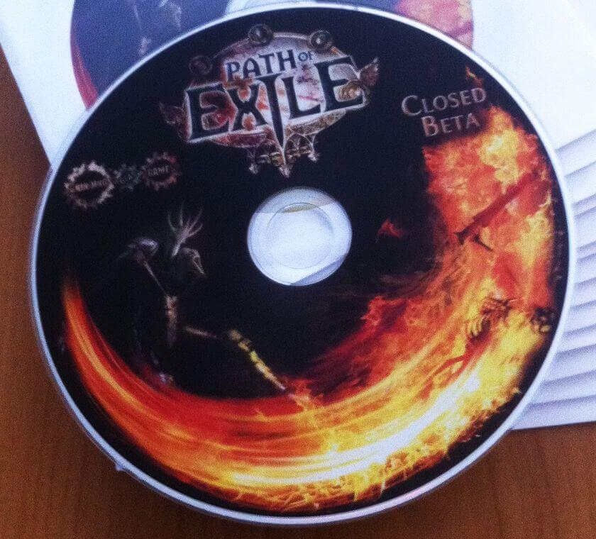 Path of Exile beta DVD